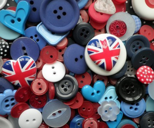 buttons and england image