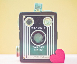 pastel, brownie, and camera image