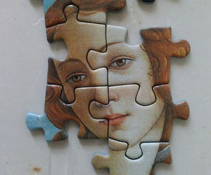 art and puzzle image