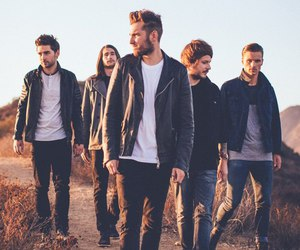 you me at six, music, and band image