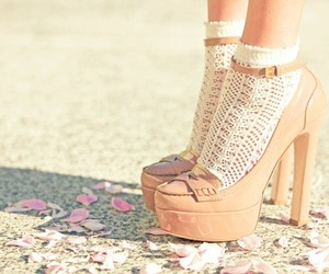 shoes, girl, and new image
