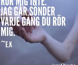 quote, sad, and swedish image