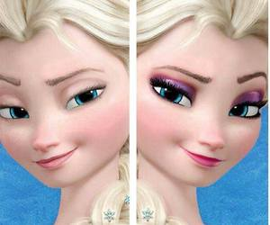 disney, Queen, and elsa image