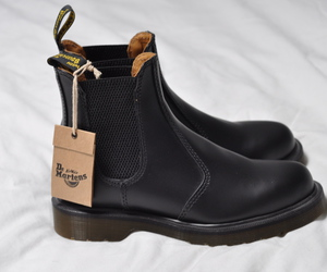 black, boots, and drmartens image