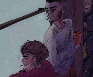 zouis, one direction, and fan art image