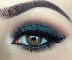 makeup and black image
