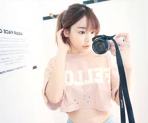 fashion, girl, and south korea image