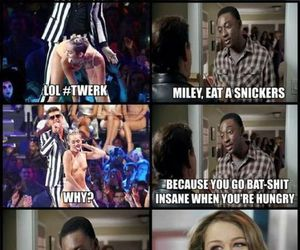 snickers, miley, and miley cyrus image