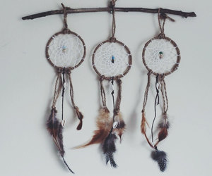bohemian, etsy, and dreamcatcher image