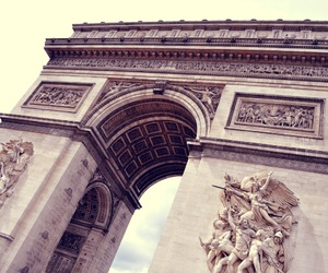 arc de triomphe, Champs-Elysees, and europe image