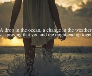 ocean, quote, and ron pope image