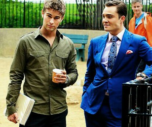 gossip girl, Chace Crawford, and chuck bass image