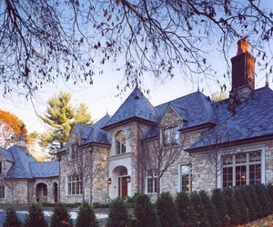 exterior, house, and mansion image