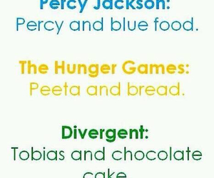 percy jackson, divergent, and tobias image