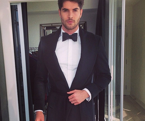 nick bateman, suit, and sexy image