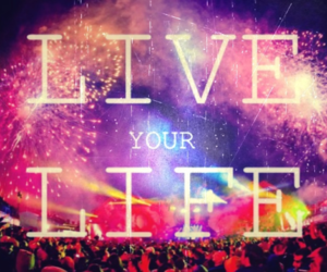 live, life, and party image