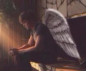 5sos, ashton irwin, and angel image