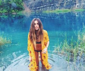 bikini, hippie, and tropical image
