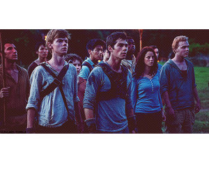 blue, thomas, and the maze runner image