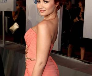 demi lovato, red carpet, and dress image