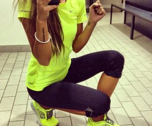 fitness, clothes, and workout image