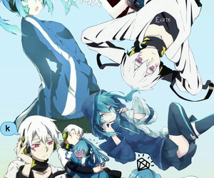eñe, mekakucity actors, and mekaku city actors image