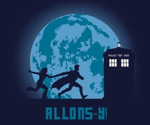 doctor who, allons-y, and david tennant image
