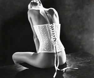 beauty, black&white, and elegance image