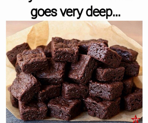 brownies and chocolate image