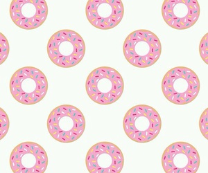 background, donut, and background repeat image