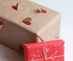 gift, heart, and valentine image