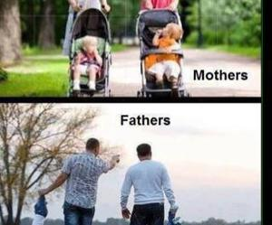 mother, father, and funny image