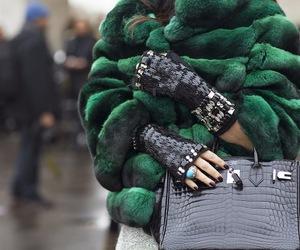fashion, fur, and hermes image