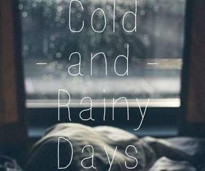 cold, rainy, and rain image