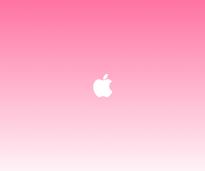 apple, pink, and white image