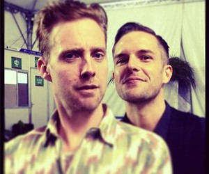 ricky wilson, brandon flowers, and the killers image