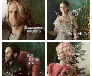 katniss, effie, and catching fire image