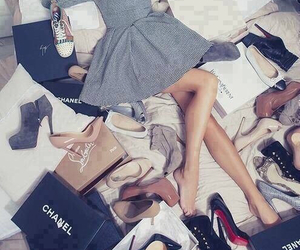 dreamy, heels, and fashion image