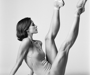 ballet, fit, and muscle image