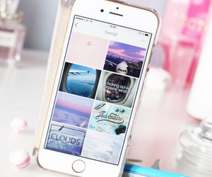 iphone, pink, and weheartit image