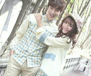 korean fashion and couple style image