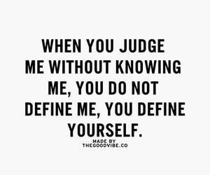 quotes, define, and judge image