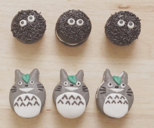 totoro, food, and cute image