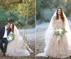 dress, groom, and scenario image