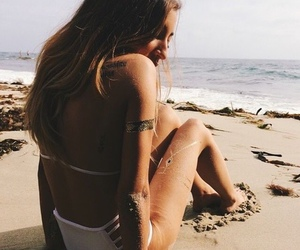 beach, fitness, and teen image