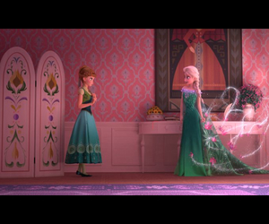 anna, frozen, and sister image