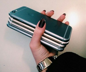 iphone, rich, and chic image