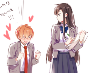 genderbend, gekkan shoujo nozaki-kun, and cute image