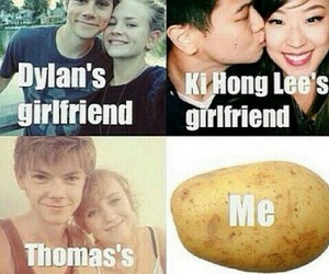 dylan o'brien, girlfriend, and ki hong lee image