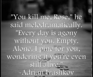 vampire academy and quote image